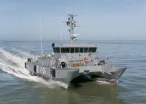 Латвия получила последний патрульный корабль типа `Скрунда`