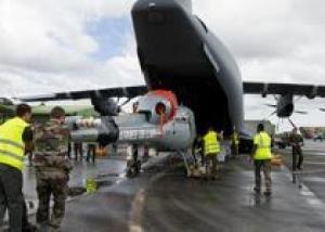 Транспортник A400M впервые перелетел через Атлантику