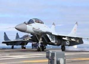 Российский флот получит десять палубных истребителей