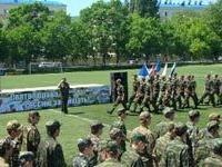 В Новороссийске на базе зенитного ракетного полка ЮВО прошел День призывника