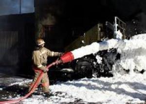 Военнослужащие российской военной базы в Абхазии прошли учение по борьбе с пожарами