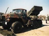 Реактивные системы залпового огня `Град` поступили на вооружение 201-й военной базы, дислоцированной в Таджикистане