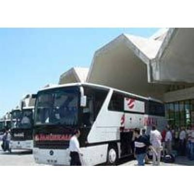 По дороге в аэропорт Антальи автобус с российскими туристами перевернулся