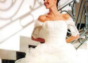 В Румынии сшили самое длинное свадебное платье