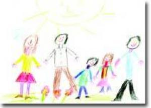 Какие рисуночные тесты можно провести с ребенком? Вариации на тему «Рисунок семьи»