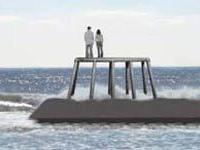 Бронзовые мужчина и женщина появятся в водах Северного моря