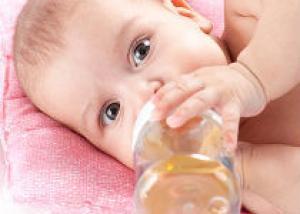 Опасность детских бутылочек
