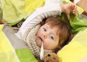 Что делать если у ребенка жар?