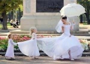 Видеосъемка свадеб: в кадре дети