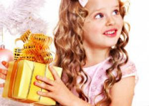 Новогодние детские прически