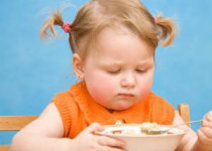Как у малыша избежать лишнего веса
