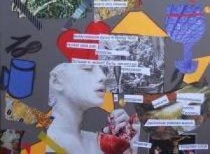 Экскурсия по выставке и создание коллажей: «Маяковский и мода»