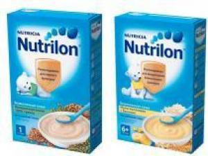 Nutrilon представляет новые безмолочные каши без сахара