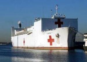 Медицинский корабль ВМС США закончил гуманитарную миссию