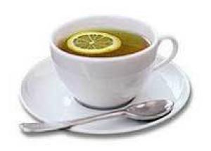 Зеленый чай с лимоном поможет победить простуду