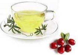 От цистита избавят клюква и заленый чай