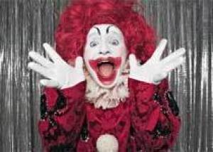 Дети боятся клоунов
