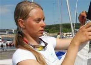 Эстонская яхтсменка Марьялийза Умб девять месяцев не подозревала, что беременна