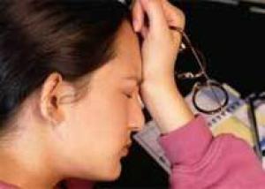 Недосыпание перед работой может довести до истерики