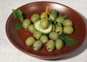 От лишнего веса спасут оливки