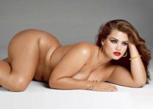 фото модели голых полных женщин