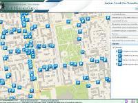В Новосибирске появилась электронная карта парковок