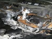 Три иномарки сгорели на подземной парковке в Ярославле