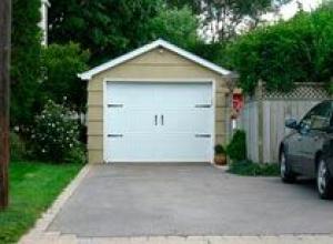 Этапы строительства гаража