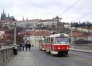 На трамвае – к пражским достопримечательностям