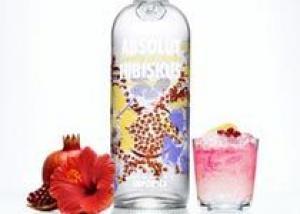Absolut Vodka представила водку со вкусом гибискуса и граната