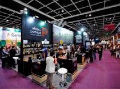 Жёлтое вино, как тысячная грань выставки в Гонконге