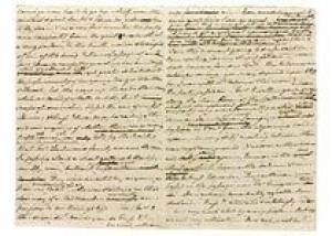 Первую рукопись Джейн Остин выставили на аукцион