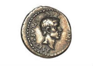 Монета в честь убийства Цезаря оценена в полмиллиона долларов