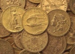 Супружеская пара из Франции нашла в подвале 34 уникальные монеты