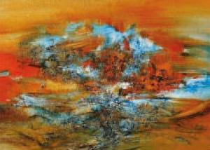 Китайский абстракционист установил рекорд на Sotheby's