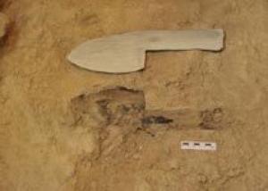 В Испании обнаружена древнейшая деревянная рукоятка