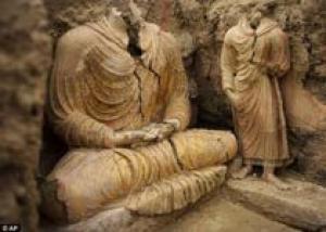 В Афганистане найдены новые буддистские статуи