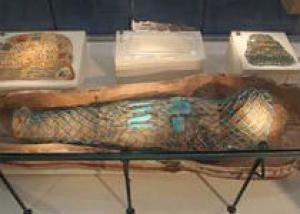 В английском музее нашли египетский саркофаг