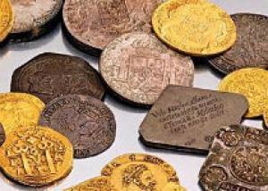 У украинцев изъяли коллекцию монет