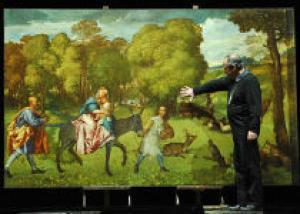 Эрмитаж отправит картину Тициана в Европу