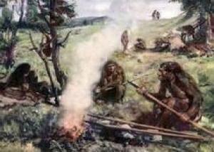 В ЮАР нашли следы первых очагов