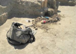 В Азове обнаружили 300-летний турецкий молочный кувшин