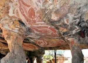 Археологи выяснили возраст древнейшей австралийской живописи