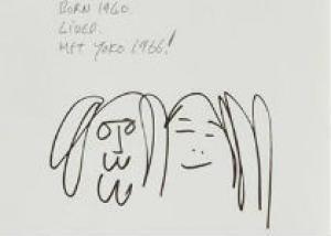 В Нью-Йорке покажут рисунки Джона Леннона
