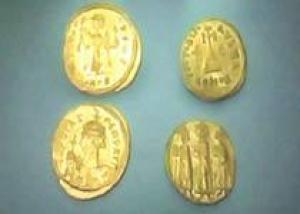 В Египте нашли две византийские монеты
