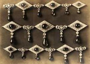 Найдены фотографии неизвестных драгоценностей русских царей