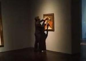 Испортивший картину Пикассо вандал сдался полиции