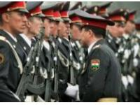 Китай предоставит спецодежду таджикским милиционерам