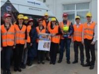 Первый визит демоавтомобиля «Мобильная лаборатория СИЗ» на предприятие состоялся!