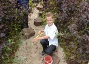 Красноярские школьники научатся делать клумбы и альпийские горки
